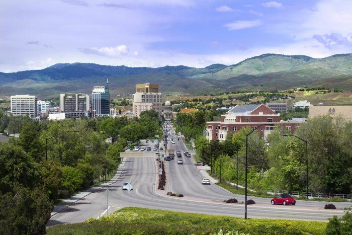 10. Boise: Here, Idaho made gender equality history.
