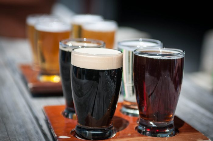 12. North Carolina has an amazing craft beer scene brimming with great breweries. Pay a few a visit or simply order one off a menu at your local bar or restaurant. No need for imported here.