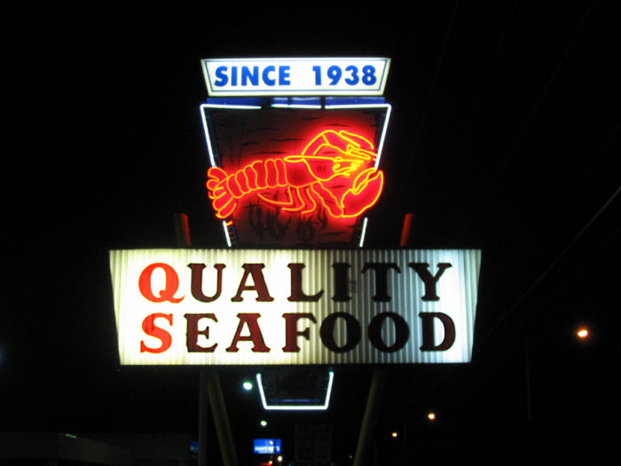 7. Quality Seafood is around the corner of who-knows-where but they sure do pack a lot of fresh seafood for purchase, and even have a restaurant area for you to eat freshly cooked menu items!