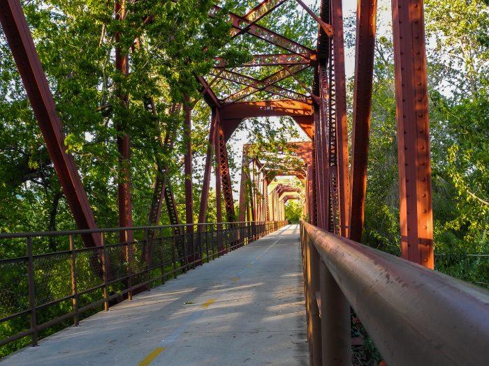4. Boise River Greenbelt Bridges