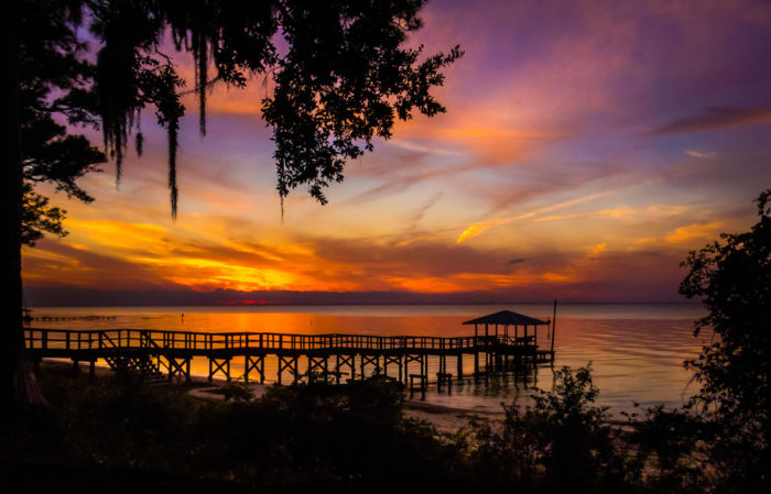 End your days, of course, with some of the most beautiful sunsets in Alabama.