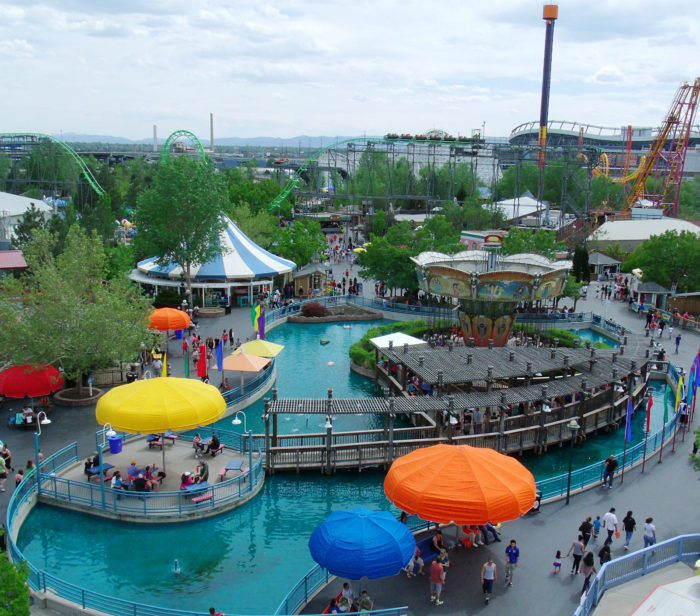1. Elitch Gardens and Theme Park