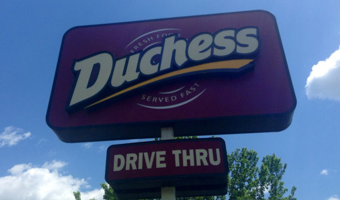 3. Duchess, a diner and fast food crossover, is unique to Connecticut and cannot be found anywhere else.