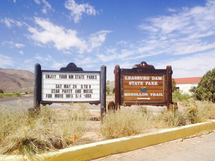 1. Camp in one of New Mexico's state parks.