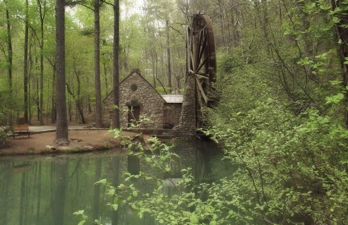 8. The Old Mill