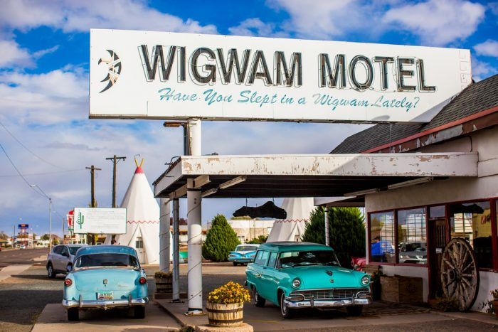 10. The ever famous Wigwam Motel in Holbrook.