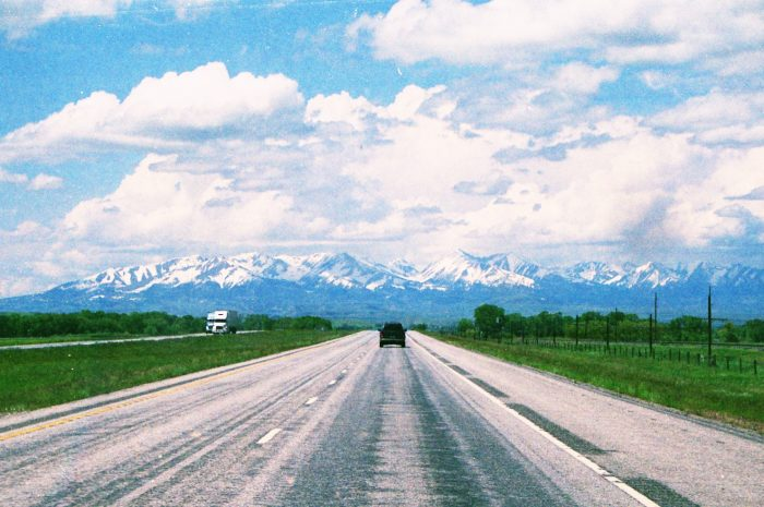 1. You drive through countryside like this without looking twice, because you're so used to your gorgeous state.