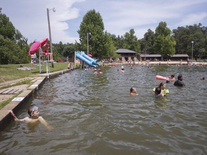 3. Lake Ponder, Crowley's Ridge State Park (near Paragould)