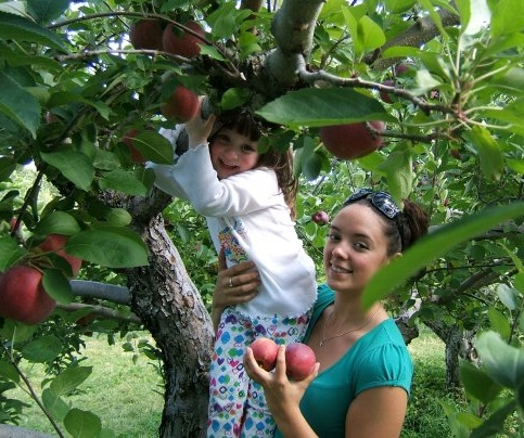 4. You've gone apple-picking in Western Mass.