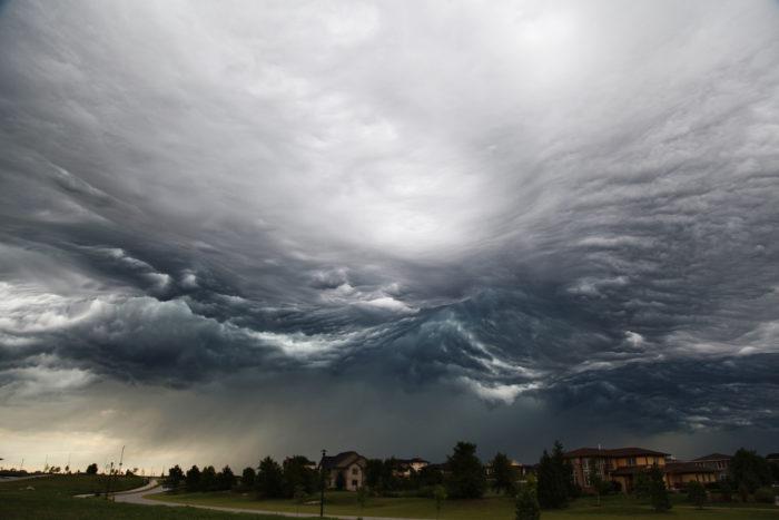 8. Watch a brewing storm.