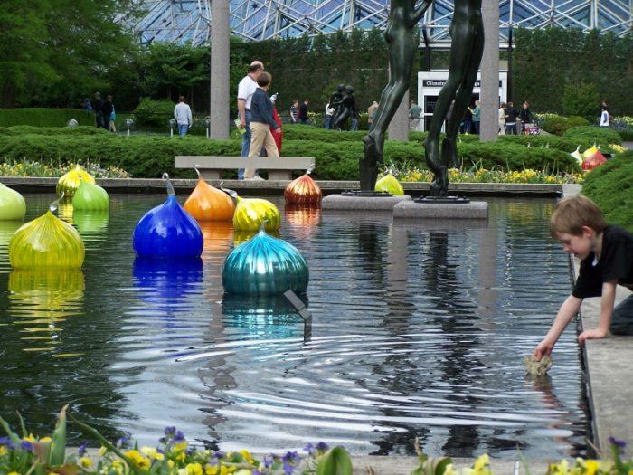 13. Reflecting Pool, Missouri Botanical Garden