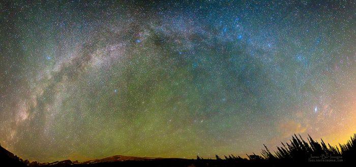 """12. """"Colorado Indian Peaks Milky Way Panorama"""""""