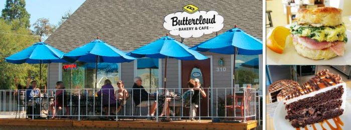 4. Buttercloud Bakery & Cafe, Medford