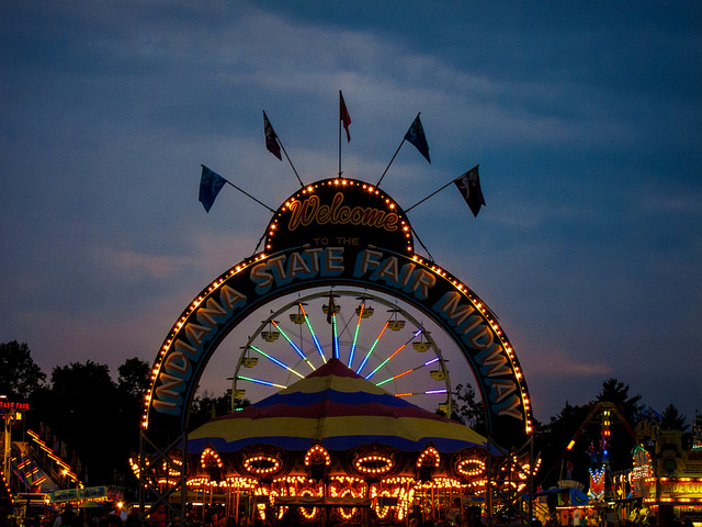 14. Go to the Indiana State Fair