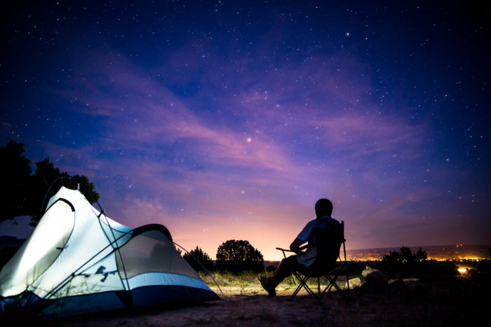 9. Pitch it!  Is there anything better than sleeping under the Rocky Mountain stars?