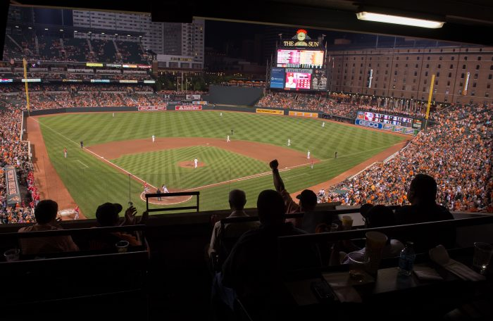 2. Cheer on the O's at Camden Yards.