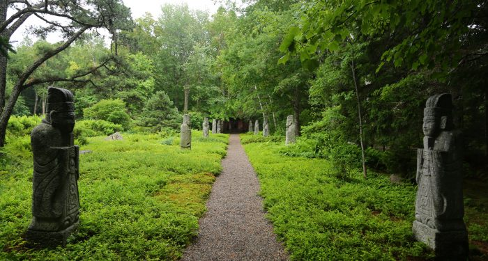 11. The greenest greens at Abby Aldrich Rockefeller Garden in Seal Harbor.
