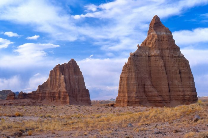 7. Temples of the Sun and Moon, Capitol Reef National Park