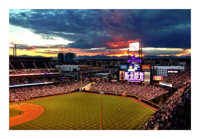 13. Atop Coors Field at sunset (Denver)