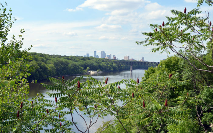 Even though it's in the center of the largest metropolitan area of Minnesota, many long-time residents have never experienced the river up-close, nor do they realize there is a massive national park in their backyard.