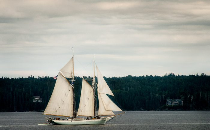 8. Take in the Somes Sound Windjammer Parade, Acadia National Park