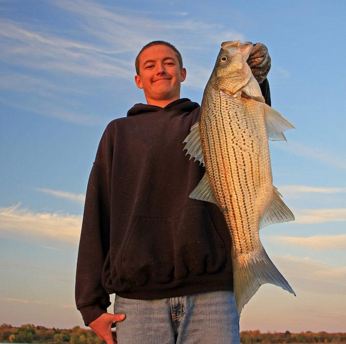 2. Fishing at Milford Lake (Junction City)