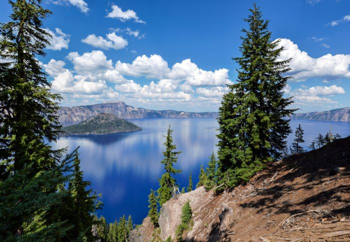 3. Get the ultimate view of Crater Lake by cruising around Rim Drive.
