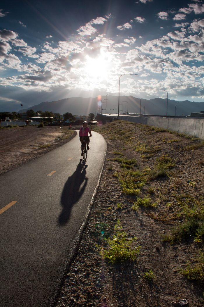 3. Go for a bike ride on the Legacy Parkway.