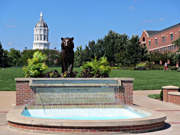 1. The University of Missouri