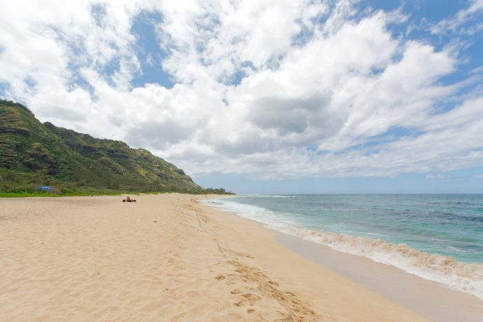 15. There's no better secluded beach than Mokuleia.