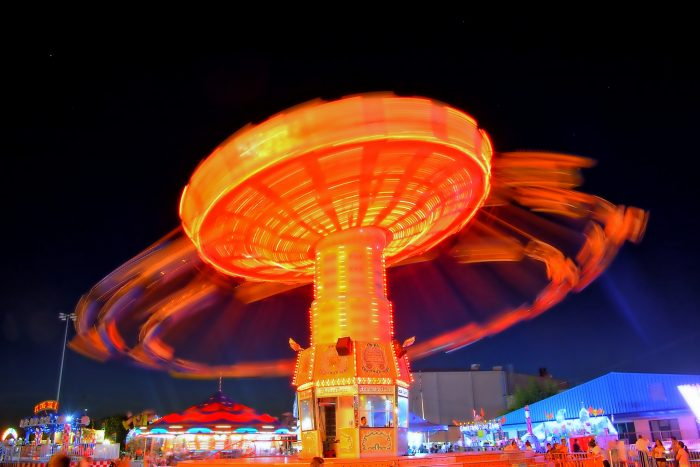 2. Go to the local fairs and festivals.