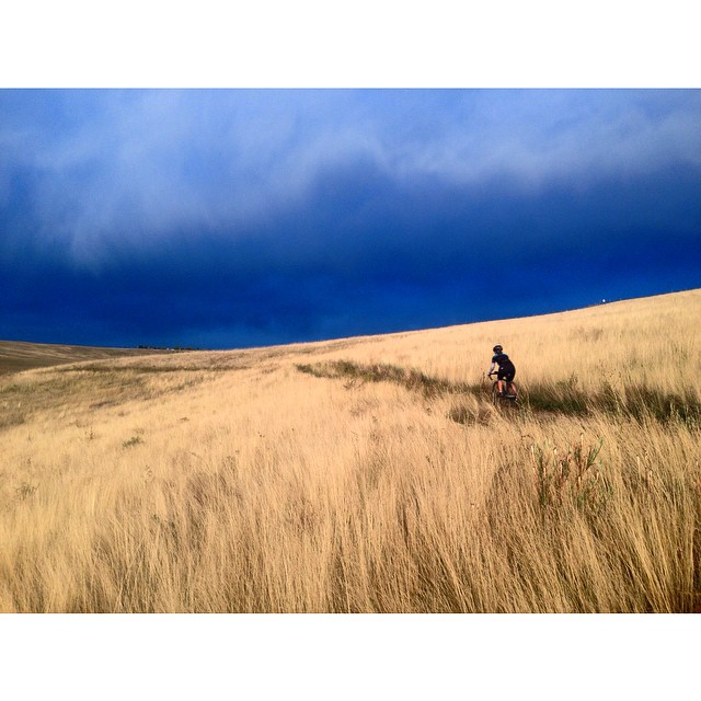 14. Eastern Plains before a storm.