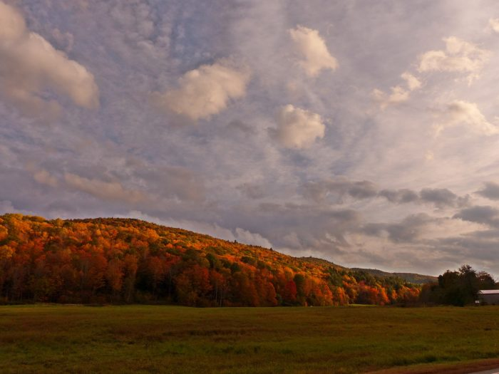 14. The big skies, rolling hills and spectacular sunsets of the Berkshires means that every photo has the potential to look unreal.