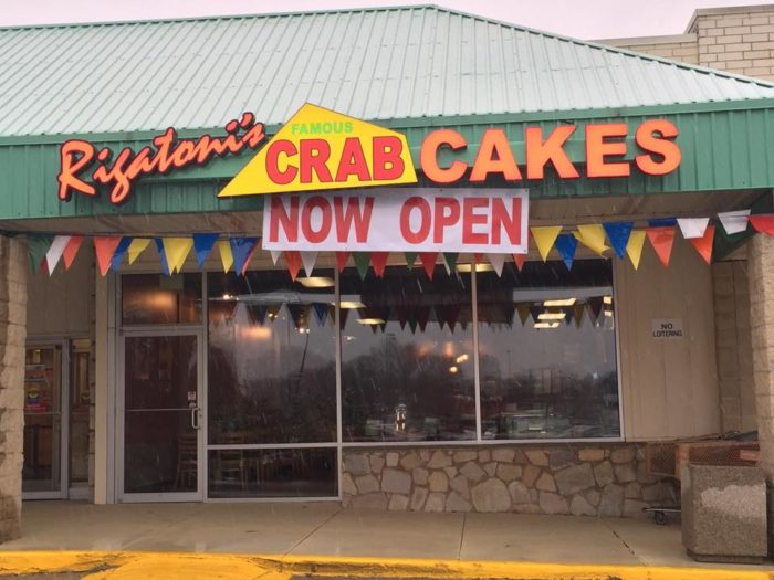 16. Rigatoni's Famous Crab Cakes, Claymont and Middletown