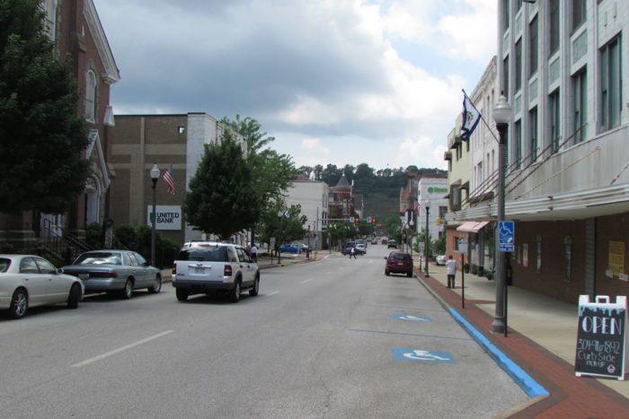 Downtown Parkersburg 2014