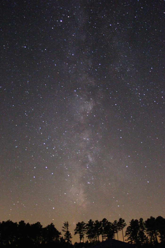 22. Stargazing, and thanking those lucky stars you live in Virginia!