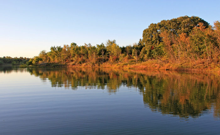 With more than 5,700 acres of water, Milford Lake is Kansas's largest man-made lake, perfect for scenic getaways...