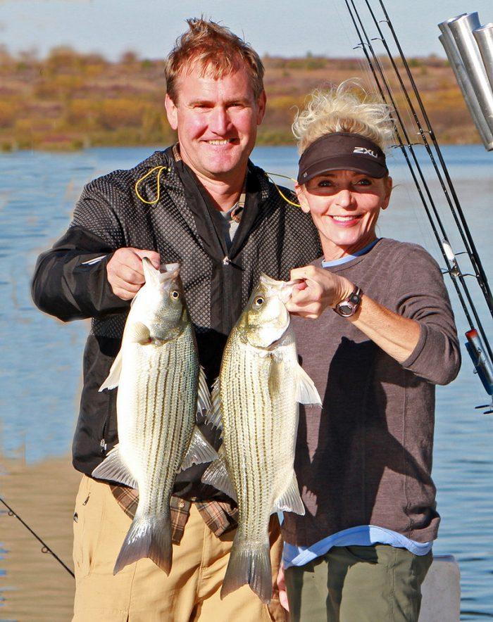 13. ...and caught a fish (or 5) at Milford Lake.