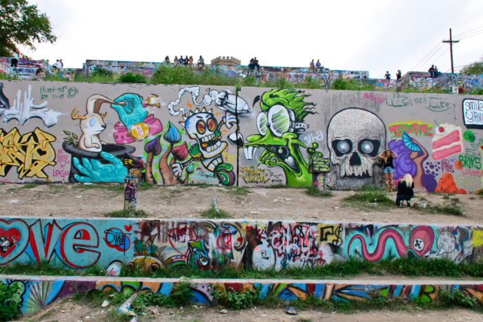 13. (Tastefully) Tag your own art to the Hope Outdoor Gallery.