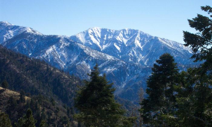 1. Mt. Baldy -- San Gabriel Mountains