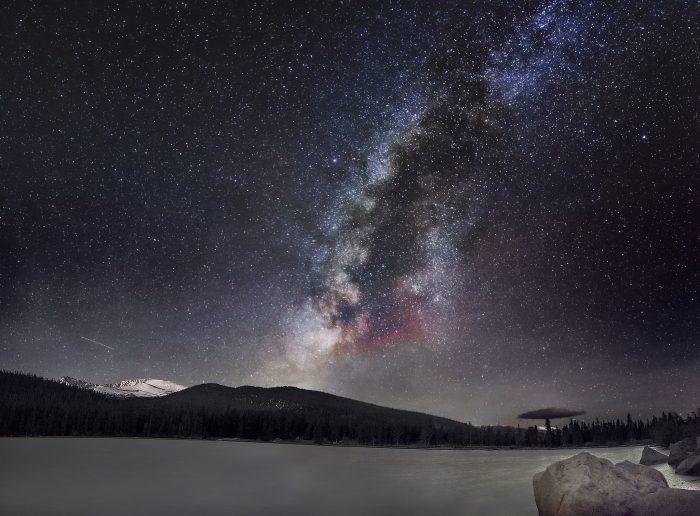 """1. """"Milky Way over Colorado"""""""