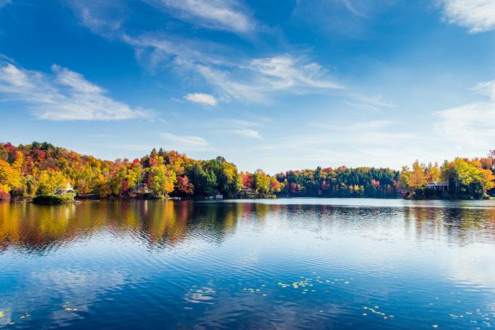 3.  Reflecting lakes.