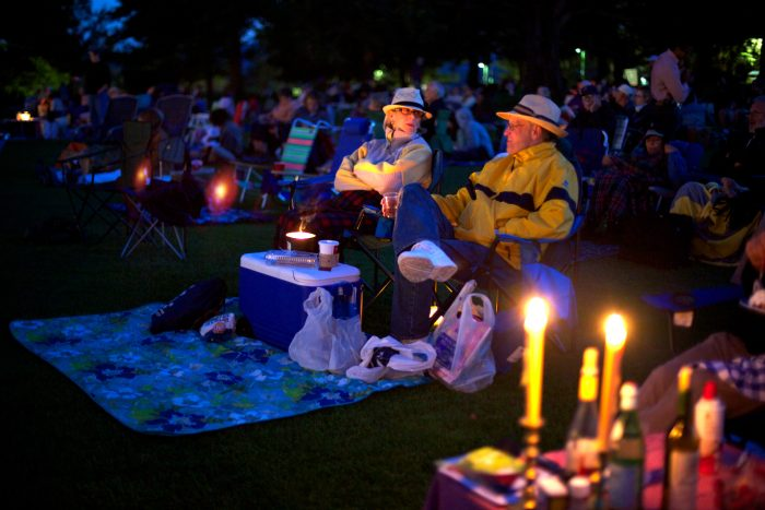10. Attend an outdoor concert at historic Tanglewood.