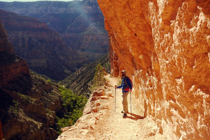 8. If you want a quieter and/or more challenging hike, the North Rim is the spot for you.