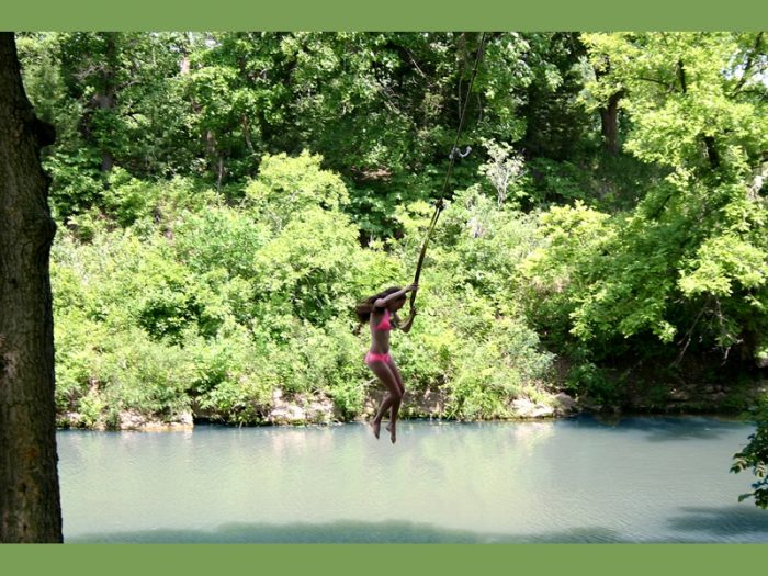 On a hot summer day, there is no better place to be than Pillsbury Crossing, which serves as a popular cool-down spot for locals trying to beat the heat.