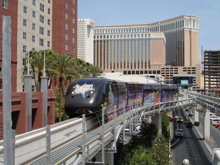 13. Las Vegas Monorail, Nevada