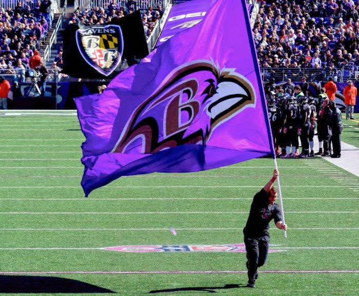 5. We're all Ravens fans.