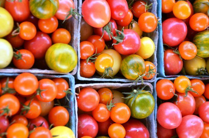 2. Growing amazing fresh fruits and veggies