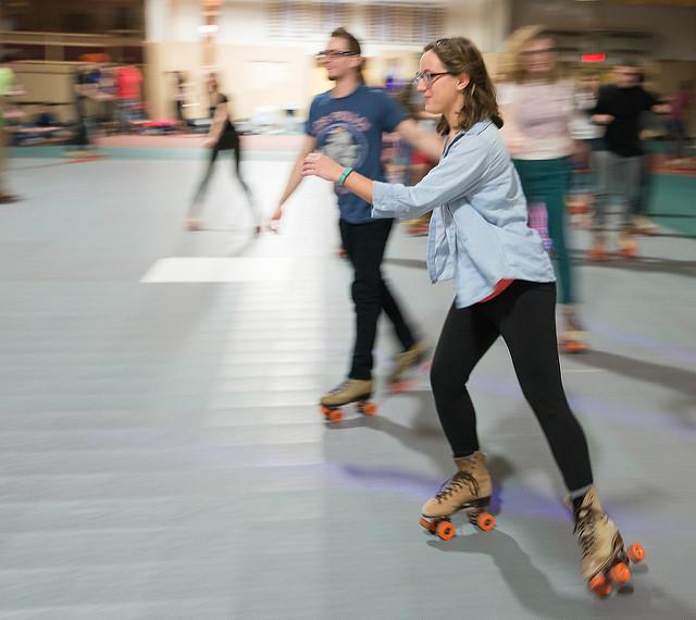6. Go roller skating.