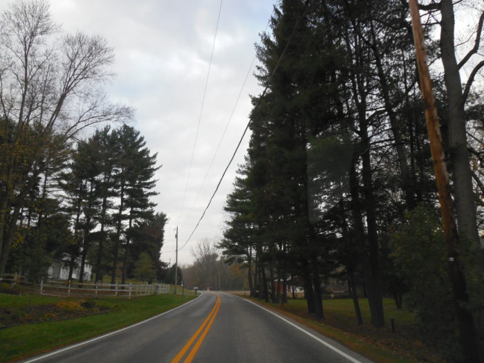 8. Wally Road Scenic Byway (from Greer to Loudonville)